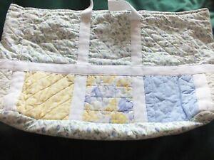 Vintage Laura Ashley Patchwork Craft/Baby Bag