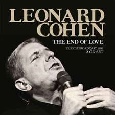 Leonard Cohen - The End Of Love (2cd) NEW 2 x CD