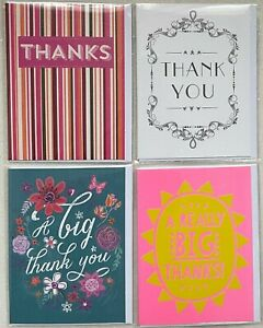 Small 'THANK YOU' Blank Cards With Envelopes - *4 Designs To Choose From*