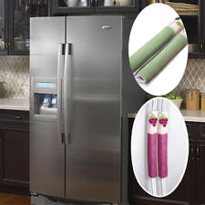 1 Pair Refrigerator Door Protect Handle Covers Home Fridge Microwave Oven Cover