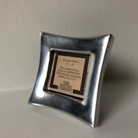 The Nature Company 100% Recycled Aluminum Picture Frame 2 in x 2 in Made in USA