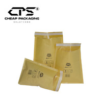CPS Genuine Jiffy Gold Bubble Padded Envelopes Bags Mailers - All Size - 50 Pcs