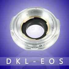 YEENON Voigtlander Schneider Retina DKL Deckel Lens To Canon EOS EF Adapter