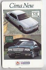 ASIE  TELECARTE / PHONECARD .. JAPON 50Y NTT TAMURA AUTO CAR NISSAN CIMA NEW V8