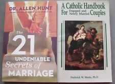 Lot 2 Catholic Handbook for Engaged Newly Married Couples Secrets of Marriage