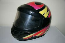 Vintage Polaris Bell Indy Kevlar Snowmobile Helmet w/ Mask Size Xxx Large 1990's