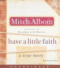 HAVE A LITTLE FAITH unabridged audio book on CD by MITCH ALBOM - Brand New!