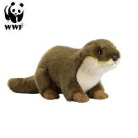 WWF Plüschtier Europäischer Fischotter (20cm) Kuscheltier Stofftier lebensecht
