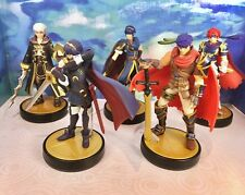 Fire Emblem Amiibo, Robin Marth Roy Lucina And Ike All 5 Original Figures Lot US