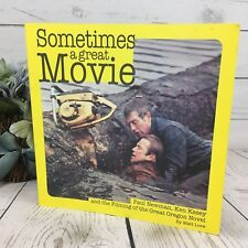 Sometimes a Great Movie Paul Newman Ken Kesey & Filming Great OR Novel Signed! A