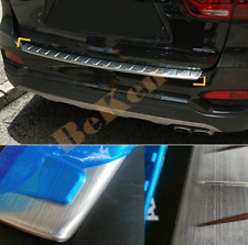 2019 2020 For Kia Sorento Stainless Rear Bumper Protector Cover Trim 1PCS