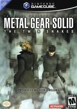 Metal Gear Solid Twin Snakes Nintendo Gamecube Game Only