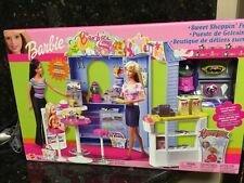 SWEET SHOPPIN FUN BARBIE DOLL PLAYSET BAKERY NEW /Barbie Kelly Supermarket