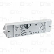 0/1-10V LED Dimmer 1CH 12A Constant Voltage 1 Channel LED Dimmable Driver *UK*