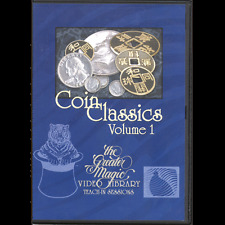 Teach in Dvd Coin Classics Vol 1 Street/Stage Magic trick magician prop