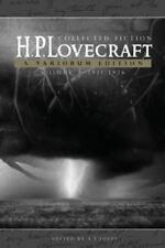 Collected Fiction Volume 3 (1931-1936): A Variorum Edition by Lovecraft, H. P.