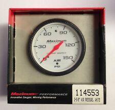 Stewart Warner Maximum Performance Series Analog Gauges 114553