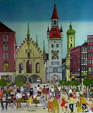 Petra MOLL (1921-1989)  München Isator - signiert