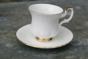 Royal Albert Val D'or Coffee Cup and Saucer Set