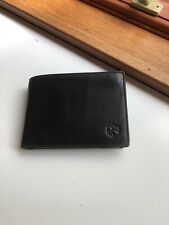 Black Leather Wallet. BNWT