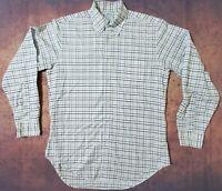 BROOKS BROTHERS Button Down Dress Shirt MEN'S Medium
