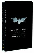 Batman begins + The dark knight boitier steelbook DVD NEUF SOUS BLISTER