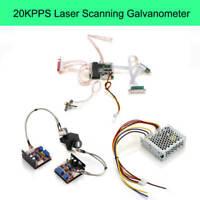 20KPPS 30KPPS Galvo Scanner max 30kpps For Laser Light Show Stage Lighting DJ