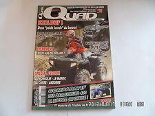 QUAD PASSION MAGAZINE N°51 09/2004 KAWASAKI 750 KVF POLARIS SPORTSMAN 800EFI H43