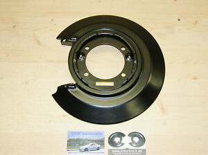 RIGHT rear brake backing plate *NEW for Vauxhall Calibra anchor plate back cover