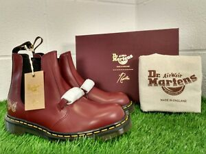 Dr Martens Mens Doc 2976 Needless Snaffle Oxblood Boots UK 9 Made In England