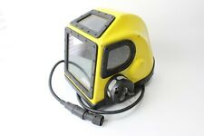 Original Us Navy Mark 12 Ssds Mk Xii Diving Helmet Yellow - Morse Circa 1980's