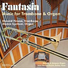 Fantasia: Music for Trombone & Organ, Donald Pinson, trom, Damin Spritzer, organ