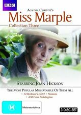 Agatha Christie's Miss Marple : Collection 3 (DVD, 2010, 3-Disc Set)New  Region4