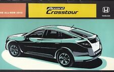 2010 10 Honda Accord Crosstour Sales Brochure MINT