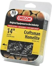 """NEW OREGON S53 14"""" PREMIUM REPLACEMENT CHAINSAW CHAIN SALE USA MADE 1241827"""