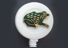 FROG Retractable Reel ID Card Security Badge Holder/Key chain ring Cute! Green