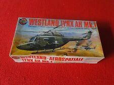 Vintage Rare Plastic Model Helicopter Airfix Westland Lynx AH Mk.1
