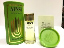 "PROFUMO ""AINSI"" ATKINSONS  8 ml NUOVO RARO VINTAGE miniatura da collezione"