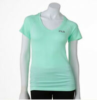 FILA SPORT Jagged Edge Seamless Performance Athletic Work out Tee - Women's
