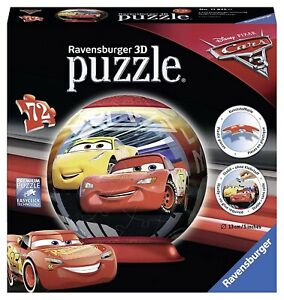 RAV118250 - Jigsaw Puzzle 3D Of 72 Parts Of Drawing Animated Disney - Cars 3