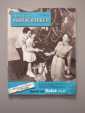 R&L Vintage Mag: Amateur Photographer 1 December 1954 Aeroplanes/Mountains
