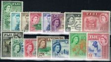 Elizabeth II (1952-Now) Mint Hinged Fijian Stamps (Pre-1967)