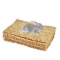 Rabbit Mat,Grass Mats For Rabbits,Safe & Edible Rabbit Mats For Cages,Bunny O4B9