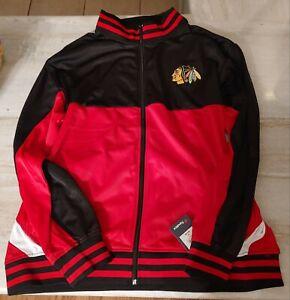 NHL Chicago Blackhawks Full Zip Jacket Fanatics Long Sleeve 3XL Heavy 055818