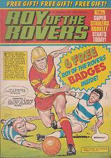 ROY OF THE ROVERS 12-02-1983 Allan Evans ASTON VILLA (Free Postage)