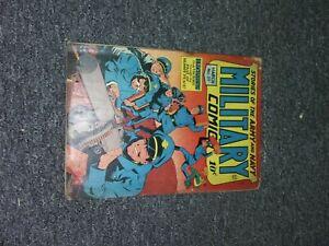 ATTIC FIND COMIC BOOK, MILITARY  COMICS MARCH 1945 NUMBER 37 COMIC MAGAZINES