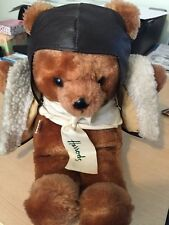 Harrods Aviator Bear 30cms - Vintage