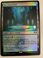1x BREEDING POOL *PROMO FOIL* MTG RNA MT/NM Planeswalker Stamp EDH COMMANDER