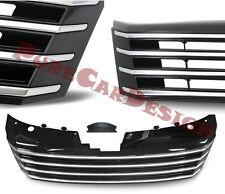 VW Passat 3C 2010- Frontgrill ohne Emblem schwarz chrom Kühlergrill Grill Gitter