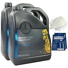 Original Mercedes-Benz Motoröl 10 Liter 5W40 229.5 inkl. Trichter + Anhänger 10L